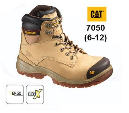 Spiro Honey Safety Boot, CATERPILLAR-7050,