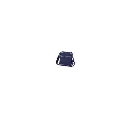 BagBase BG016 French Navy/White