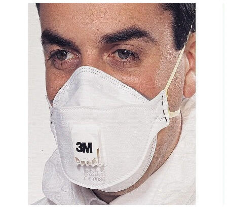 3M 9312 Foldable valved Dust/mist Pk 10