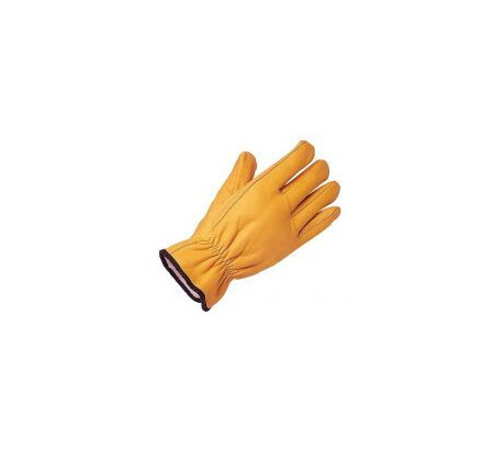 Leather fleece lined driving glove