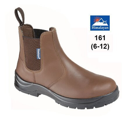 Brown Dealer Safety Boot with Midsole, Himalyan 161,
