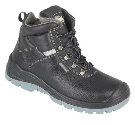 Black Iconic 5-ring Safety Boot, HIMALAYAN-5155,