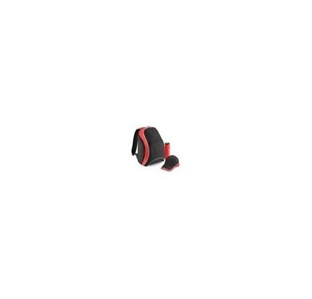 BagBase BG571 Black/Classic Red/White