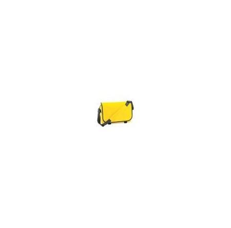 BagBase BG021 Yellow/Graphite Grey