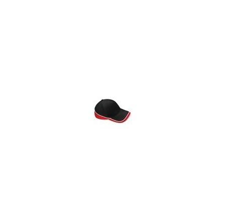 Beechfield BC171 Black/Classic Red/White