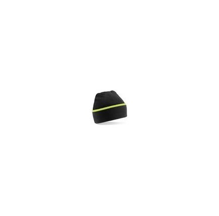 Beechfield BC471 Black/Lime Green