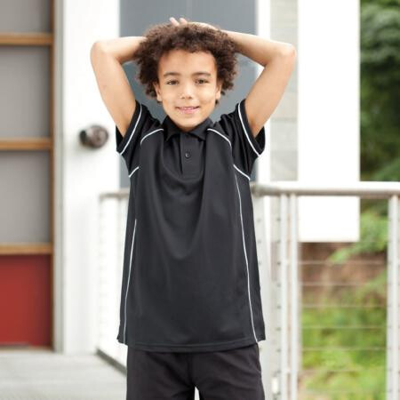 Finden & Hales LV372 Kids Piped Performance Polo