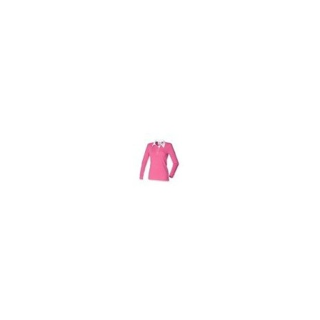 Front Row FR101 Bright Pink/White