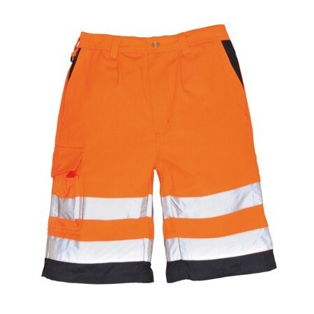 Portwest Hi Vis Shorts E043 Orange