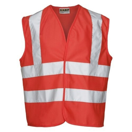 Childrens Red Hi Vis Vest