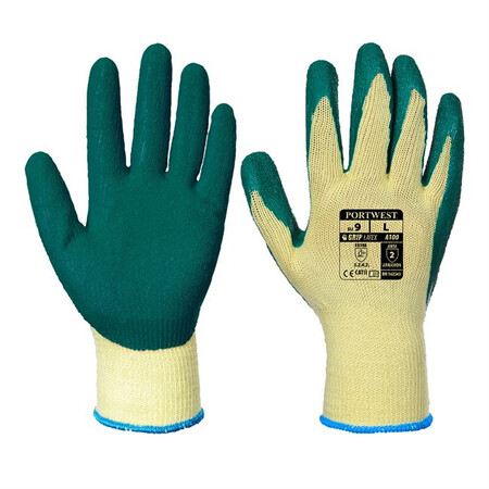 Portwest A100 Grip Glove Green