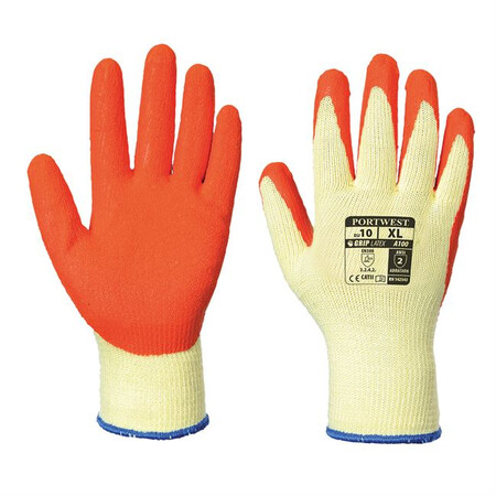 Portwest A100 Grip Glove Orange
