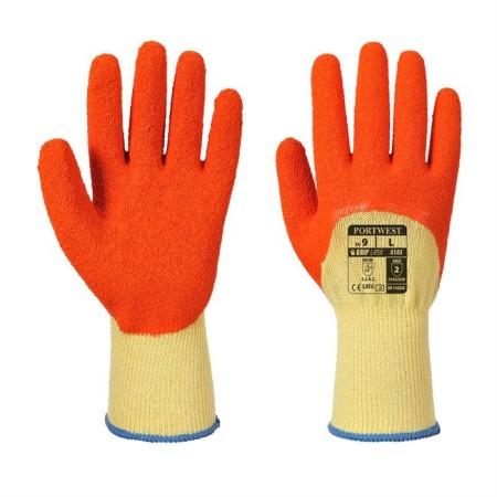 Portwest A105 Grip Xtra Glove Yell-Ora