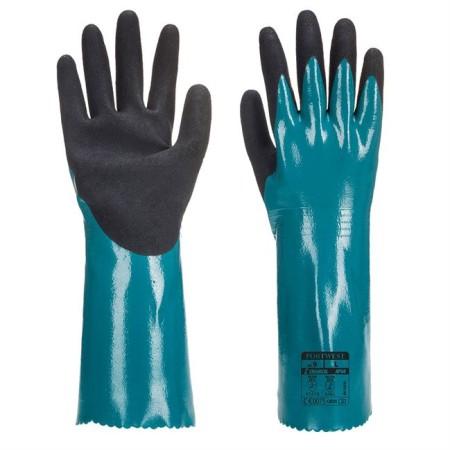 Portwest AP60 Sandy Grip Lite Gauntlet Blue-Black