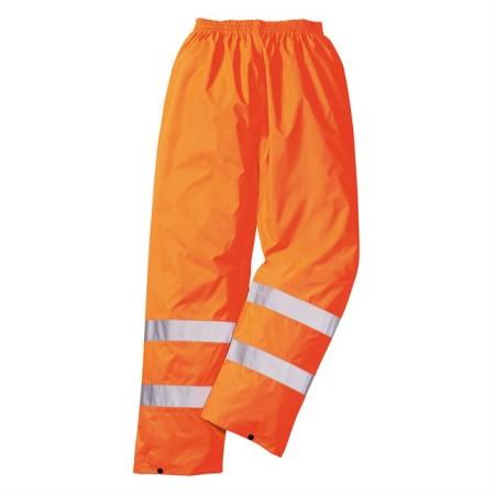 Portwest H441 Hi-Vis Rain Trousers Orange