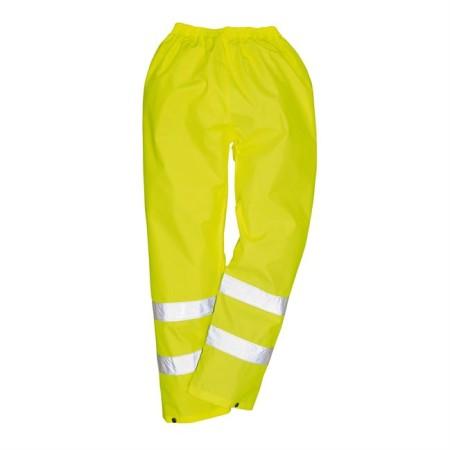 Portwest H441 Hi-Vis Rain Trousers Yellow