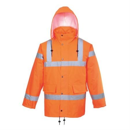 Portwest RT34 Hi-Vis Breathable Jacket RIS Orange