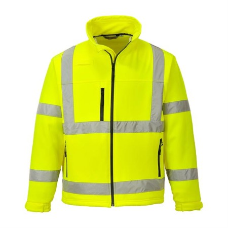 Portwest S424 Hi-Vis Softshell Jacket Yellow