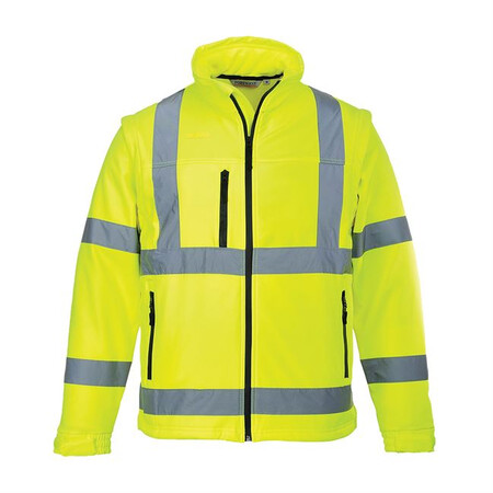 Portwest S428 Hi-Vis Softshell Jacket Yellow