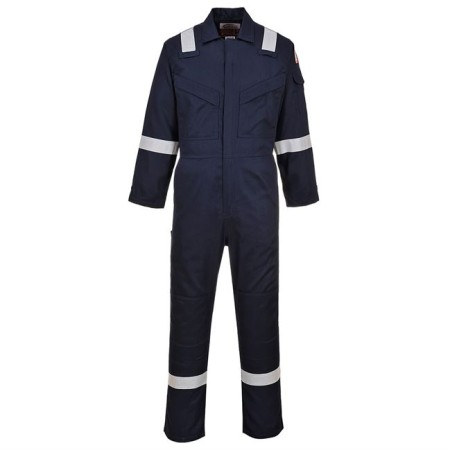 Portwest FR21 FR Antistatic Coverall Navy