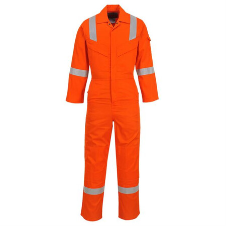 Portwest FR21 FR Antistatic Coverall Orange