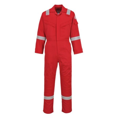 Portwest FR21 FR Antistatic Coverall Red