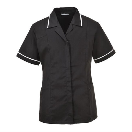 Ladies Nurses Tunic Portwest LW20  BLACK