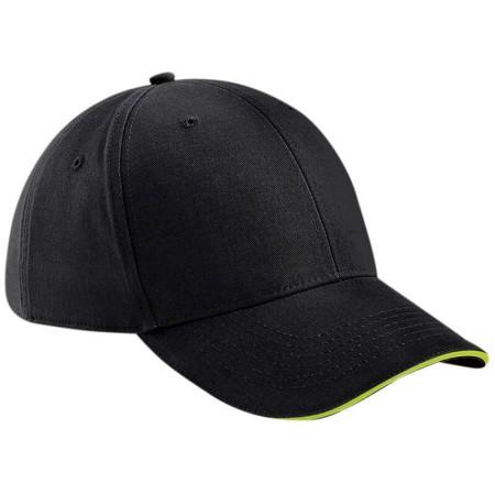 Beechfield BC020 Black/Lime Green
