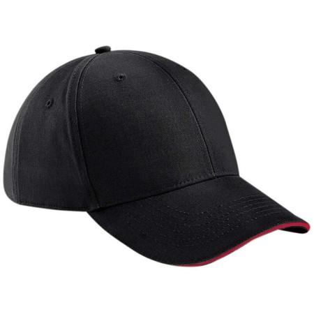 Beechfield BC020 Black/Classic Red