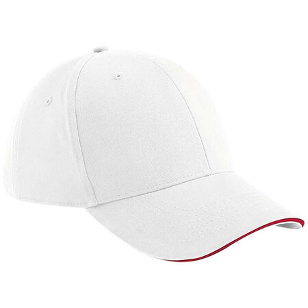Beechfield BC020 White/Classic Red