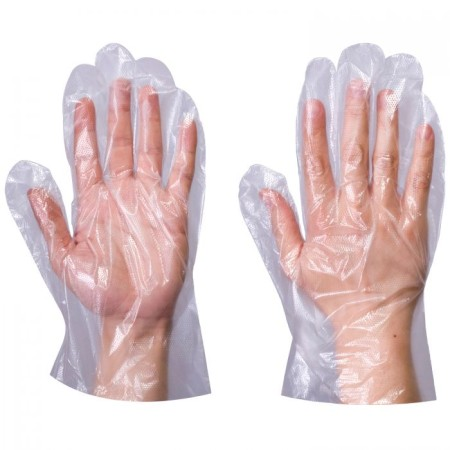 Clear PE Gloves