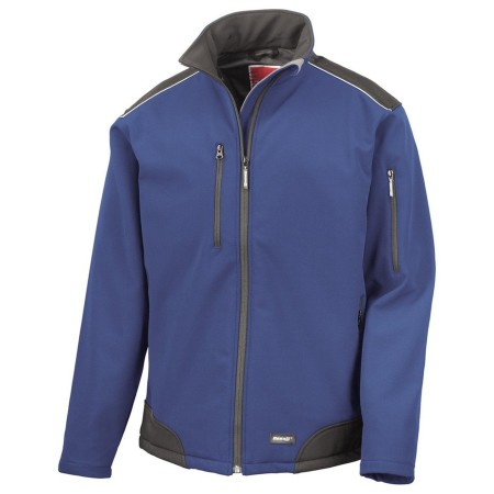 Result R124A Ripstop Softshell 3 layer profile jacket