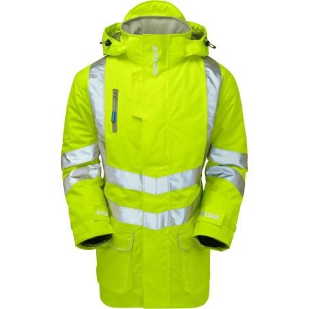 Yellow P187 Pulsar Hivis Storm Coat