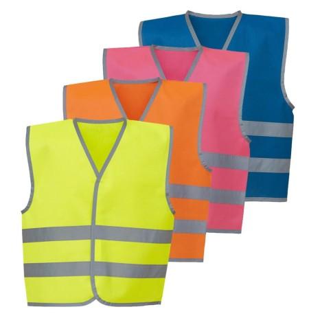 100 Kids Printed Hi Vis vests