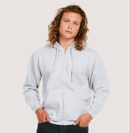 Uneek UC504 Adults Classic Full Zip Hooded Sweatshirt