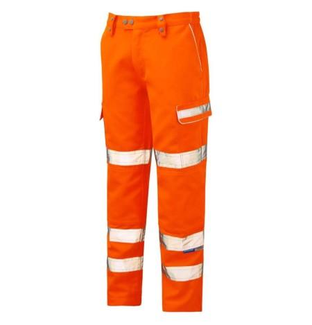 Pulsarail Orange Hi Vis Teflon Coated Combat Trouser PR336