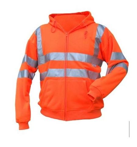 Hi Vis orange hoodie