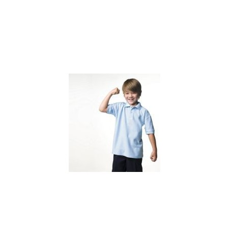 Jerzees Schoolgear J539B,Kid's  poly/cotton polo