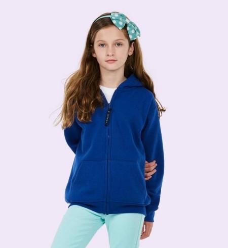 Uneek UC506 Childrens Classic Full Zip Hooded Sweatshirt
