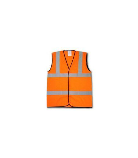 HVW03 Orange hi vis vest