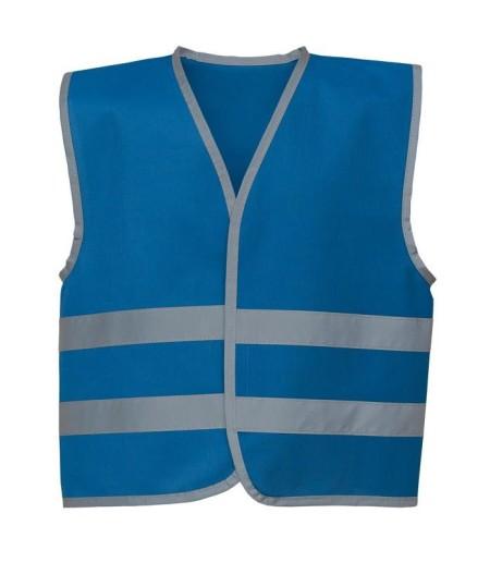 Kids Hivis Vests Royal Blue