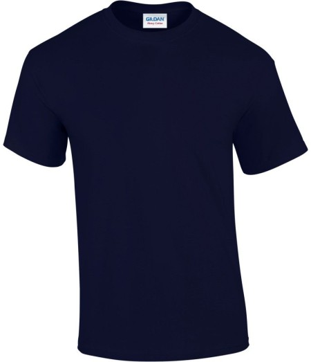 Covid 19 T-shirt Navy Front