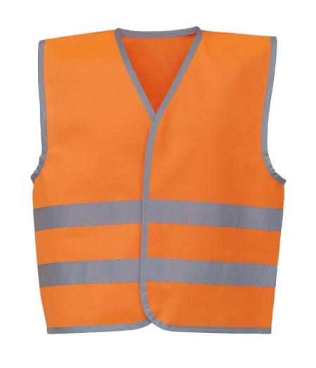 Kids Hivis Vests Orange