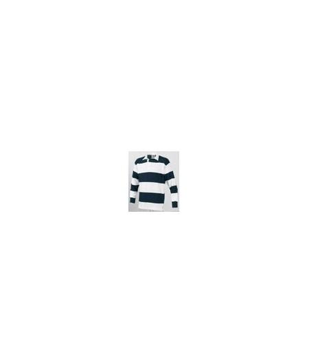 Front Row FR08M White & Navy (White collar)