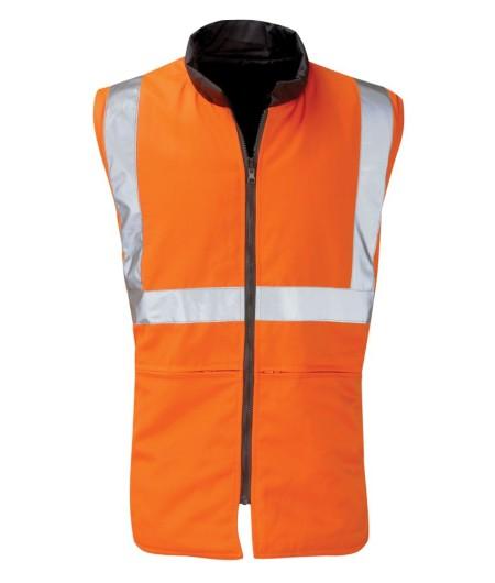 Orbit HVRBR Orange Hivis Bodywarmer