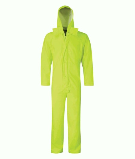 Hi Vis Coverall Yellow