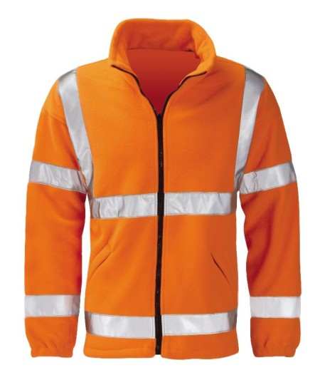 Orange Hi Vis Fleece