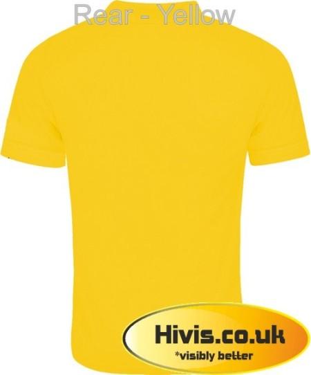Uneek UC108 Yellow