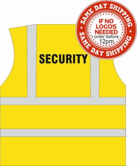 Security Hi Vis vest