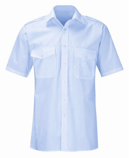 Pilot Short Sleeve Shirt with Logo